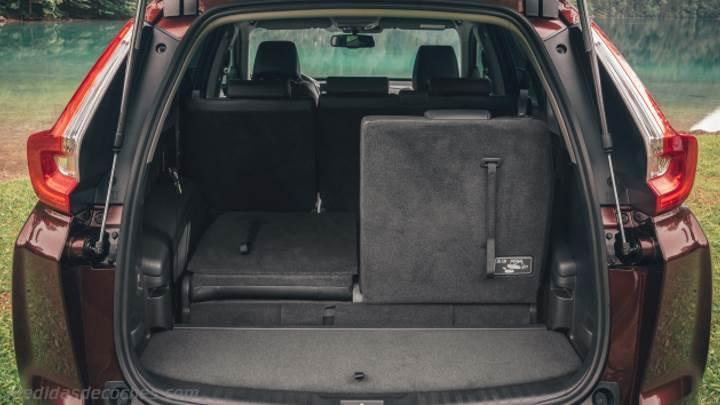 Medidas Honda CR-V 2018, maletero e interior
