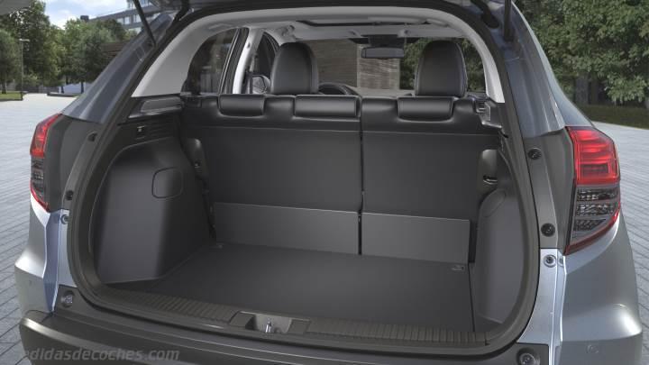 Jeep Compass 2018 >> Medidas Honda HR-V 2019, maletero e interior