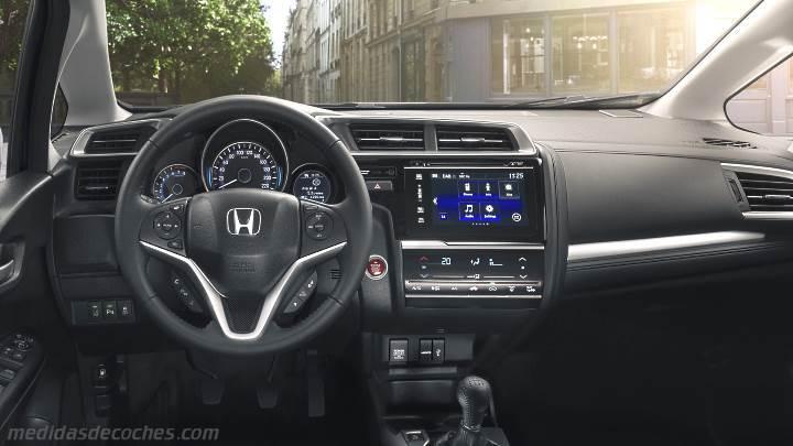 Medidas Honda Jazz 2018, maletero e interior