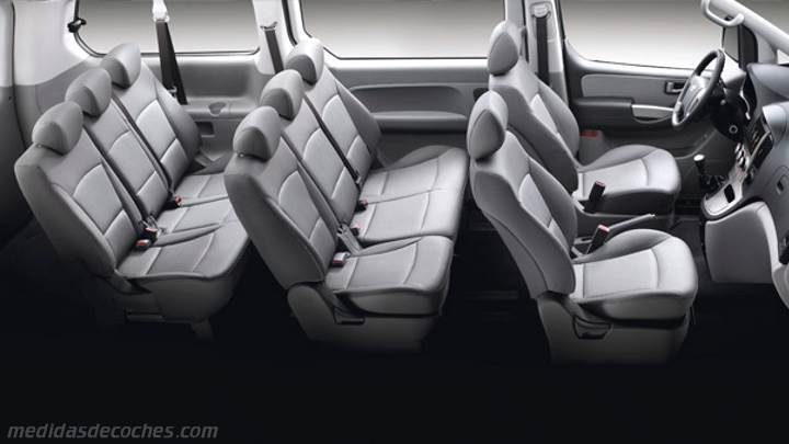 Interior Hyundai H-1 Travel 2015