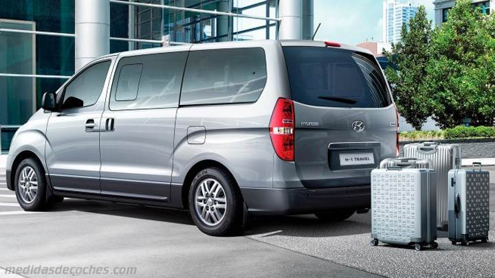 Maletero Hyundai H-1 Travel 2015