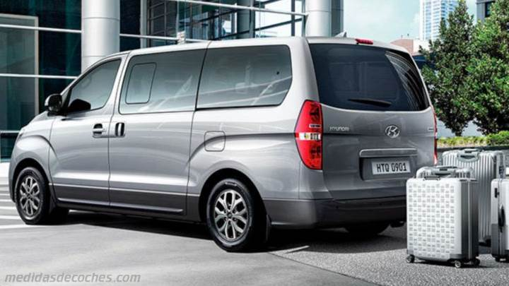 Maletero Hyundai H-1 Travel 2019