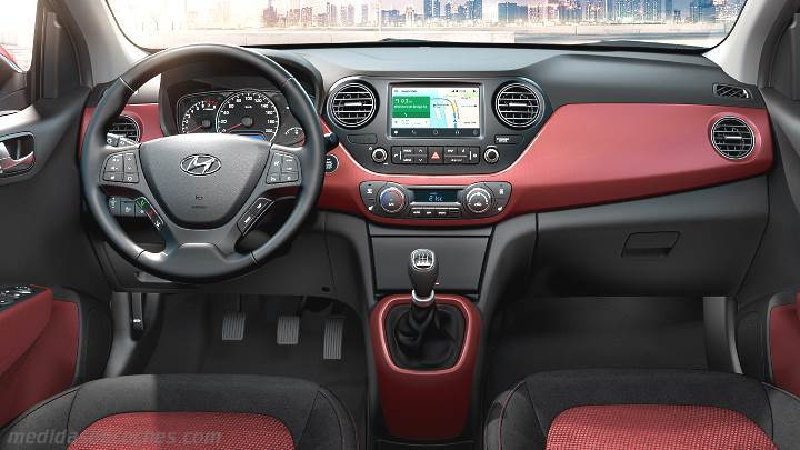 medidas hyundai i10 2017 maletero e interior. Black Bedroom Furniture Sets. Home Design Ideas