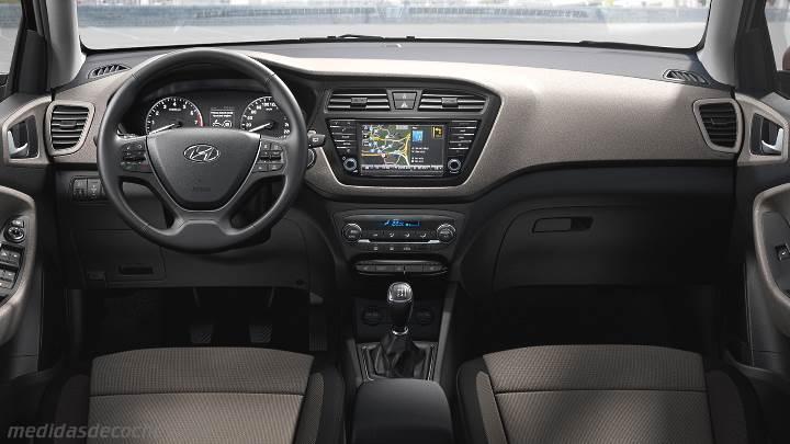 Medidas Hyundai i20 2015, maletero e interior