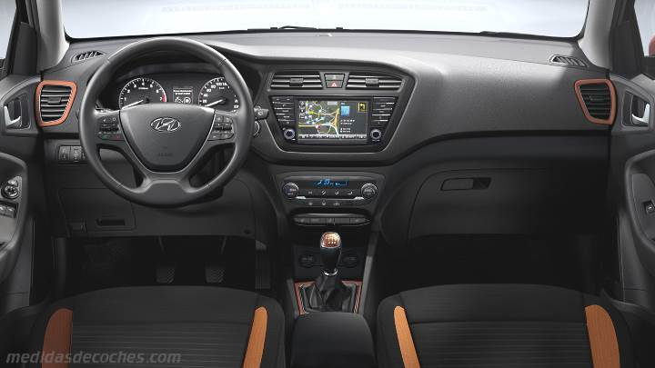 Medidas hyundai i20 coupe 2015 maletero e interior for Hyundai i20 2015 interior