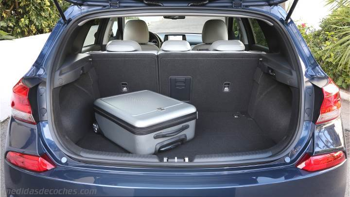 Medidas Hyundai I30 2017 Maletero E Interior