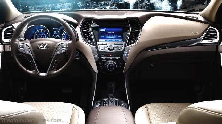 Medidas Hyundai Santa Fe 2013 Maletero E Interior