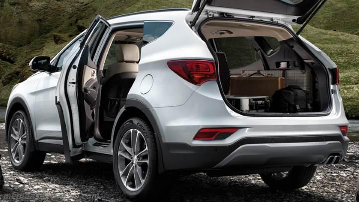 Santa Fe Mazda Volvo >> Medidas Hyundai Santa Fe 2016, maletero e interior