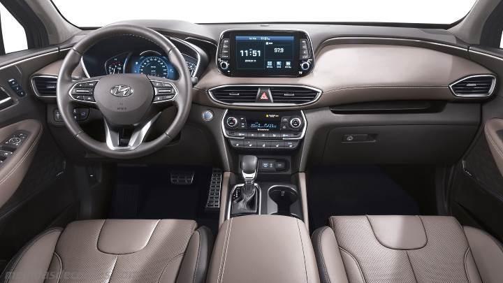 Honda Santa Fe >> Medidas Hyundai Santa Fe 2018, maletero e interior