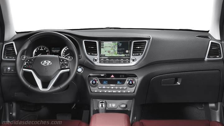 Medidas Hyundai Tucson 2015, maletero e interior