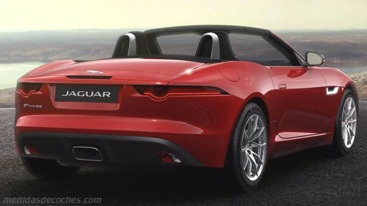 Maletero Jaguar F-TYPE Convertible 2017