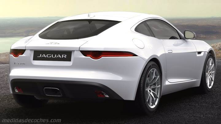 Maletero Jaguar F-TYPE Coupé 2017