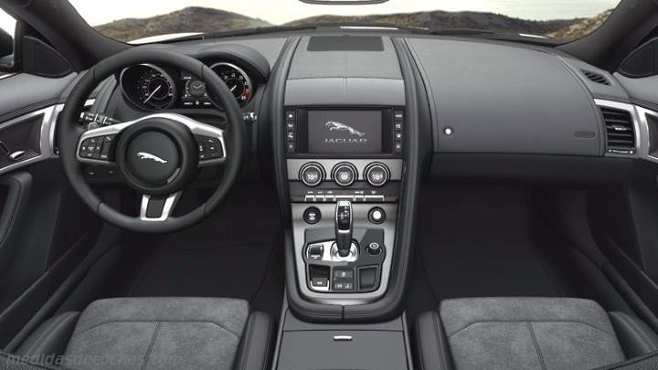 Medidas Jaguar F Type Coup 2017 Maletero E Interior