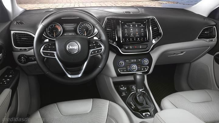medidas jeep cherokee 2018  maletero e interior