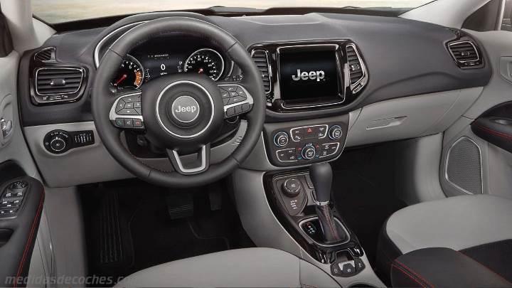 medidas jeep compass 2017 maletero e interior. Black Bedroom Furniture Sets. Home Design Ideas