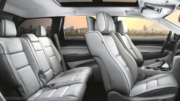Interior Jeep Grand Cherokee 2017