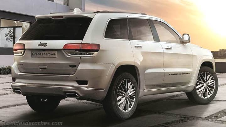 Maletero Jeep Grand Cherokee 2017