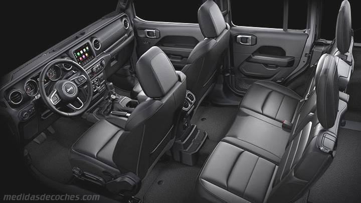 Interior Jeep Wrangler Unlimited 2019