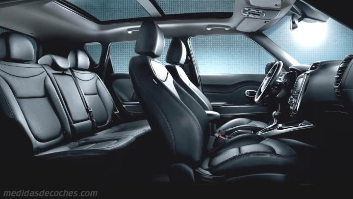 Interior Kia Soul 2014 Zoom