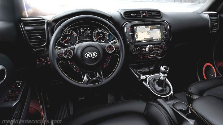 Toyota Del Rio >> Medidas Kia Soul 2014, maletero e interior