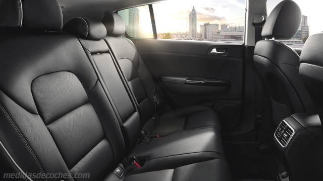 Medidas Kia Sportage 2016, maletero e interior