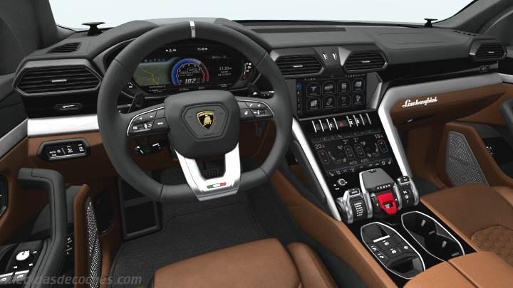 Medidas Lamborghini Urus 2018, maletero e interior