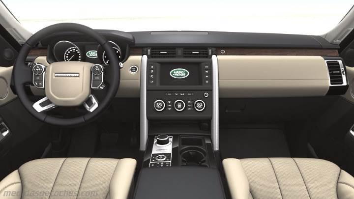 Medidas land rover discovery 2017 maletero e interior for Land rover discovery 2017 interior