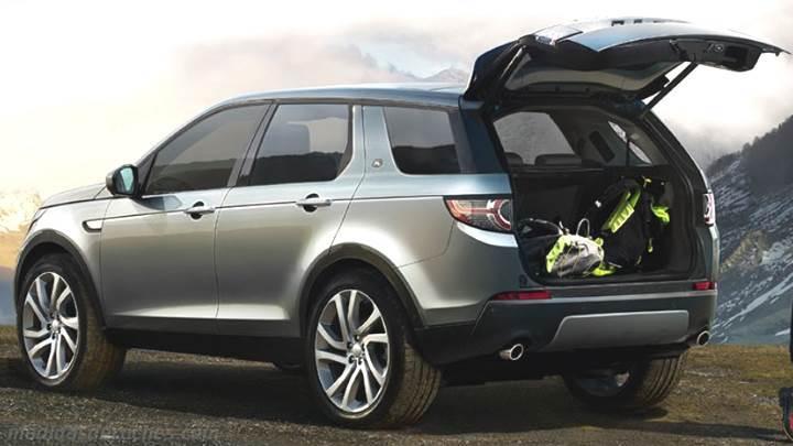Medidas Land-Rover Discovery Sport 2015, maletero e interior