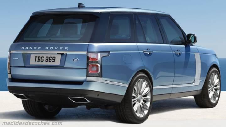 Medidas Land Rover Range Rover 2018 Maletero E Interior