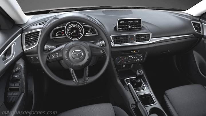 Medidas mazda 3 sportsedan 2017 maletero e interior for Mazda 3 2017 hatchback interior