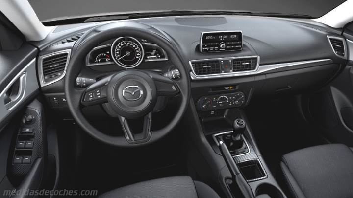Medidas Mazda 3 Sportsedan 2017 Maletero E Interior