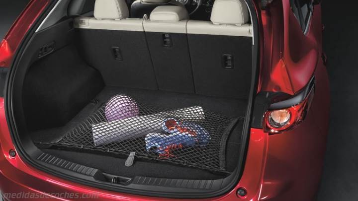 Medidas Mazda Cx 5 2017 Maletero E Interior