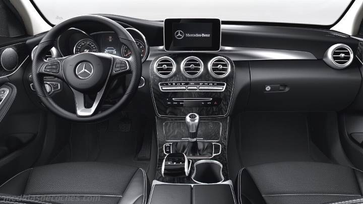Medidas mercedes benz clase c berlina 2014 maletero e interior - 2014 mercedes c class interior ...