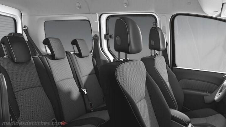 Interior Mercedes-Benz Citan Tourer Extralargo 2013