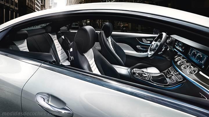 Medidas mercedes benz e coup 2017 maletero e interior - Mercedes e coupe interior ...