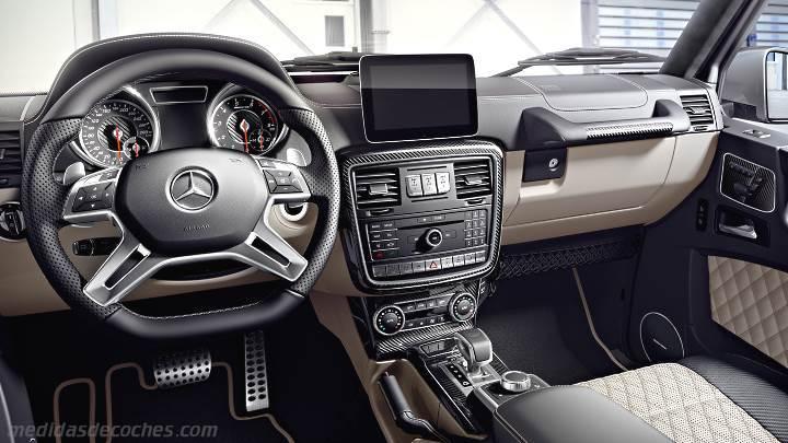 Medidas Mercedes Benz Clase G 2012 Maletero E Interior