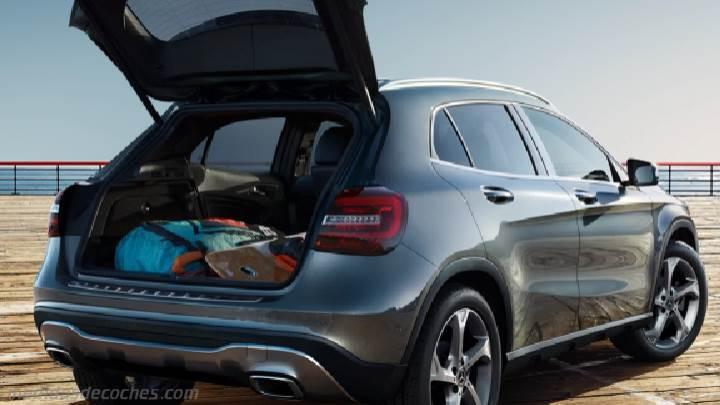 Medidas del Mercedes-Benz GLA 2017 con fotos de su interior, maletero ...