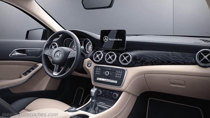 Medidas Mercedes-Benz GLA 2017, maletero e interior