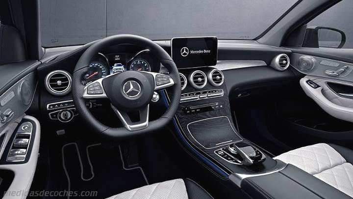 Resultado de imagen de Mercedes glc interior