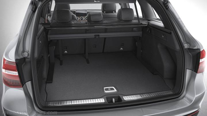 Medidas Mercedes Benz Glc Suv 2015 Maletero E Interior