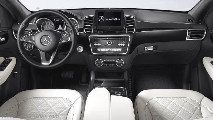 Medidas Mercedes Benz Gle Coup 233 2015 Maletero E Interior
