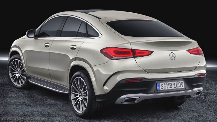Maletero Mercedes-Benz GLE Coupé 2020