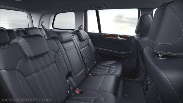Medidas Mercedes Benz Gls 2016 Maletero E Interior