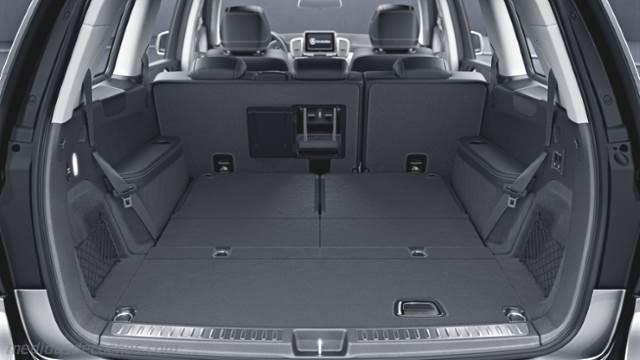 Medidas Mercedes-Benz GLS 2016, maletero e interior