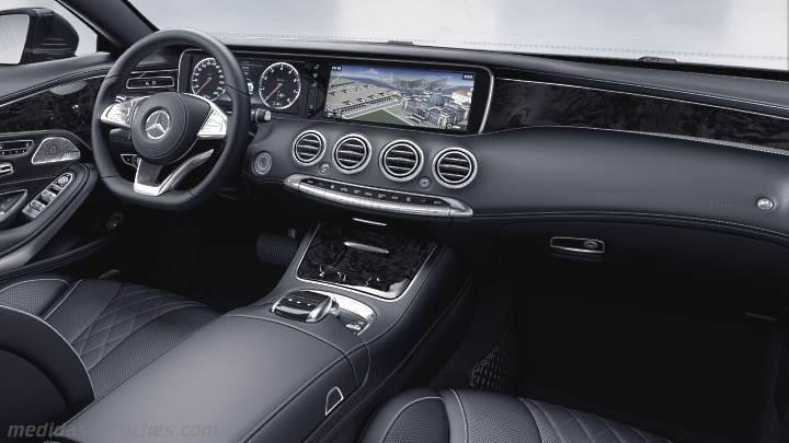 Medidas mercedes benz clase s coup 2014 maletero e interior for Interior clase a