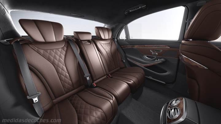 Interior Mercedes-Benz Clase S Largo 2013