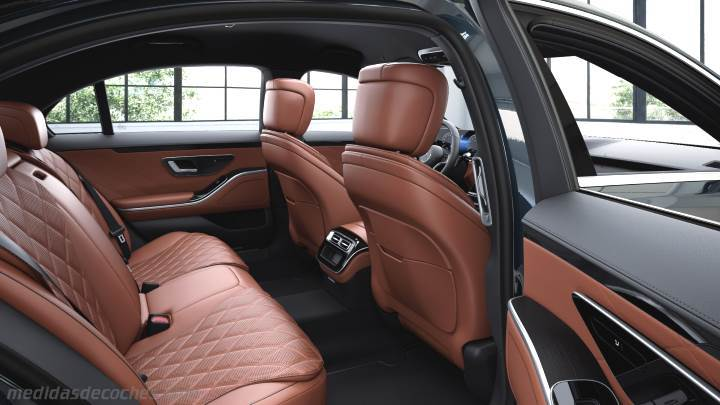 Interior Mercedes-Benz Clase S Largo 2021
