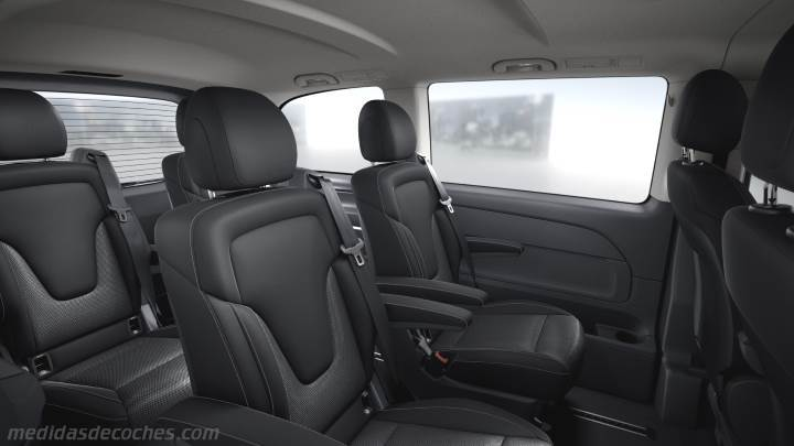 Medidas Mercedes Benz Clase V Compacto 2014 Maletero E