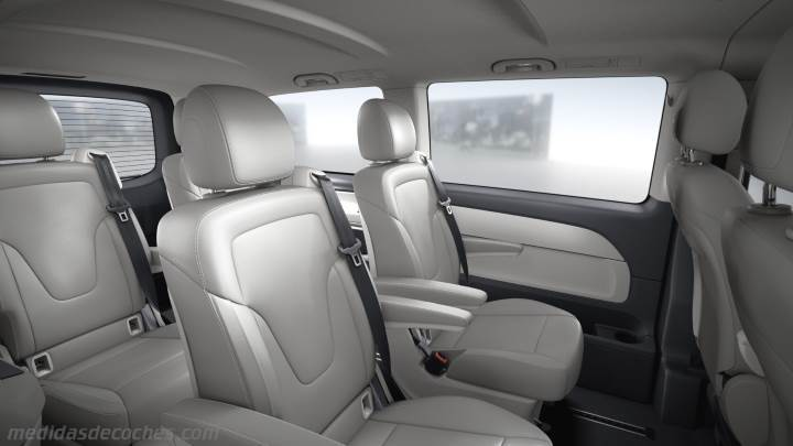 Interior Mercedes-Benz Clase V Largo 2014