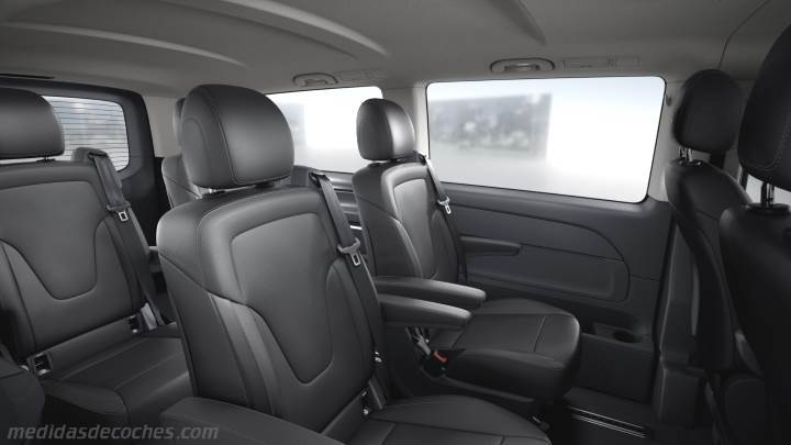 Interior Mercedes-Benz Clase V Extralargo 2014